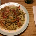 Shrimp & Artichoke Linguine