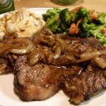 Spanish-style Pan-fried Bone-in Ribeye
