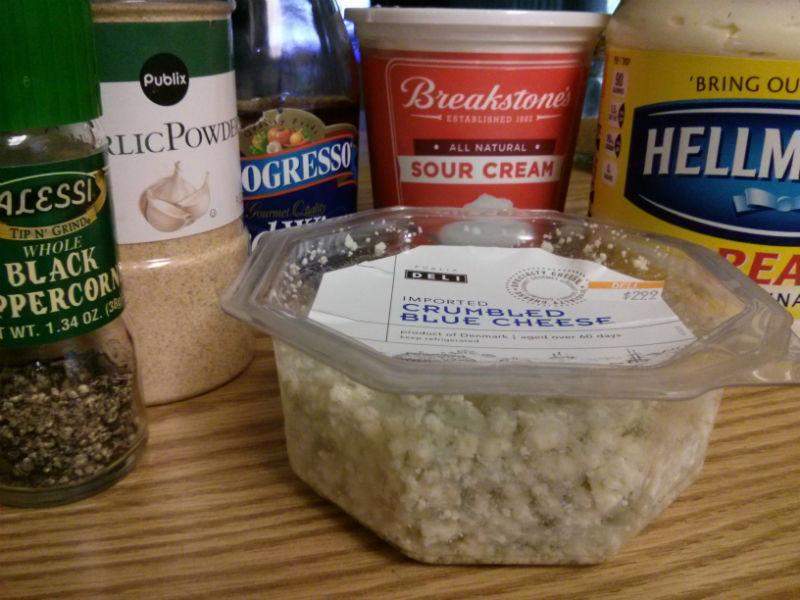 Blue Cheese Dressing ingredients