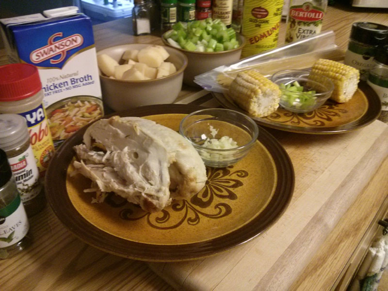 Chicken Vegetable Noodle Soup ingredients