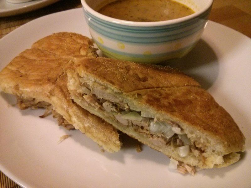 Mojo Roasted Pork Sandwich