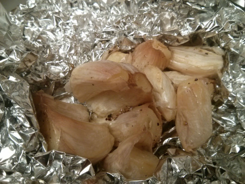 Roasted Garlic ready for use