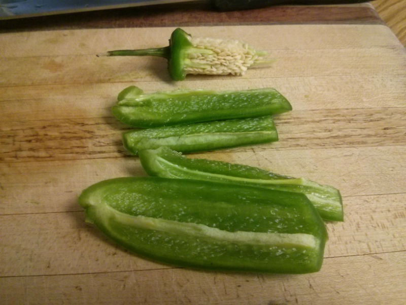 Seeded jalapeno