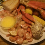 Snow Crab and Shrimp Boil