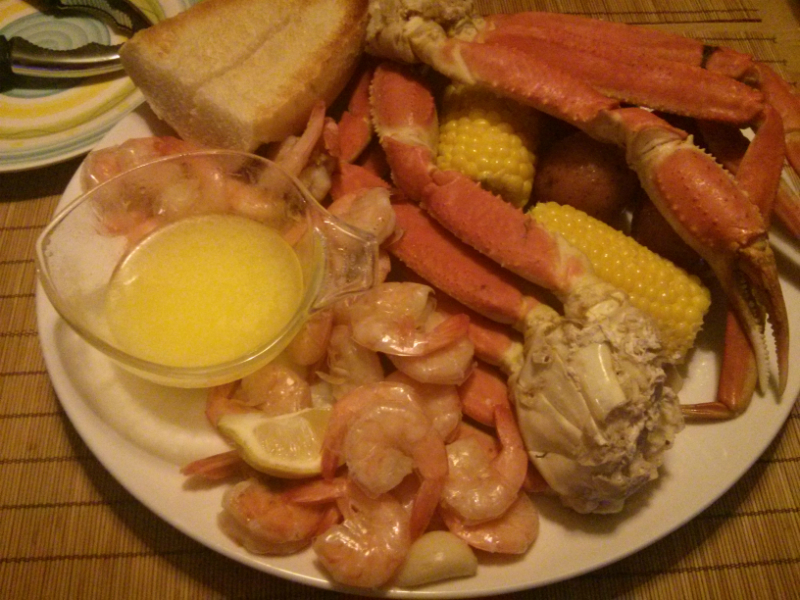 How do you boil snow crab legs