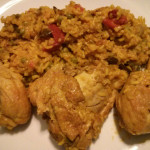Arroz con Pollo (Yellow Rice and Chicken)