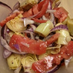 Artichoke, Red Onion & Tomato Salad
