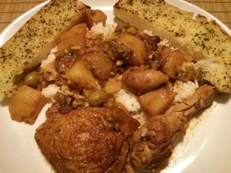 Fricasé de Pollo (Cuban Chicken Fricassee)