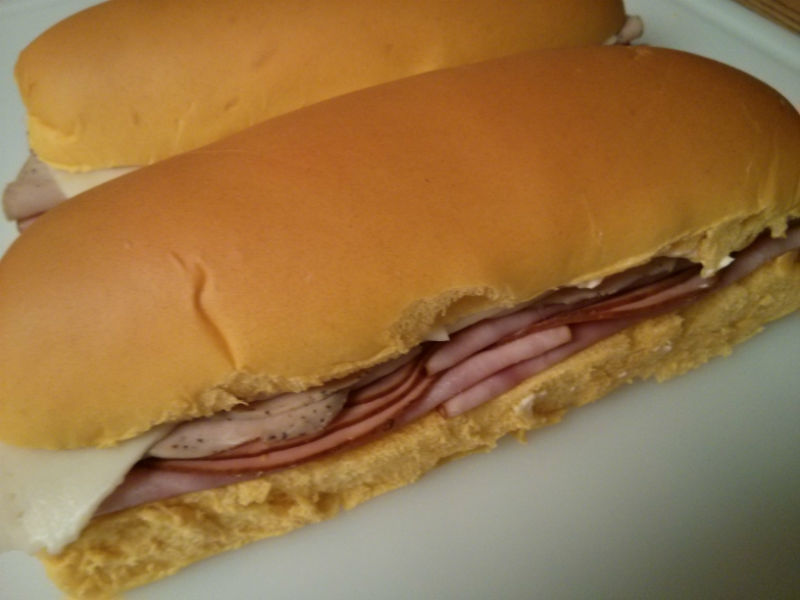 Medianoche Sandwich ready for the press