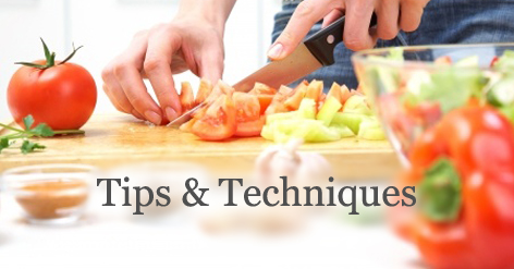 Tips and Techniques - 5 Kitchen Hacks