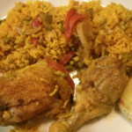 Arroz con Pollo (Yellow Rice and Chicken)