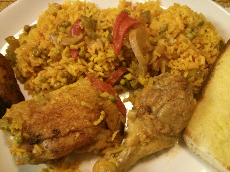 Arroz Con Pollo Cuban Yellow Rice And Chicken