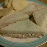 Classic Tuna Egg Sandwich