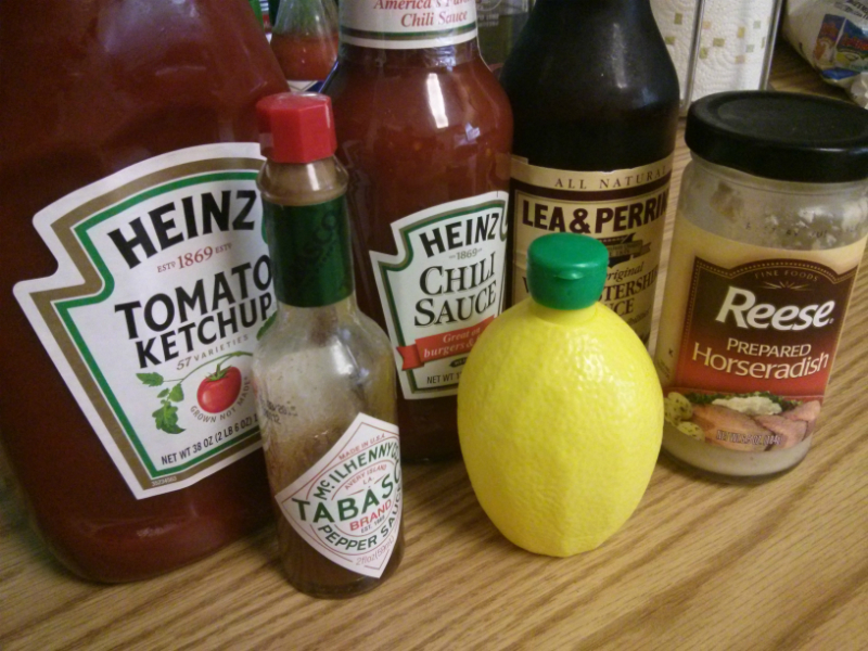 Cocktail Sauce ingredients