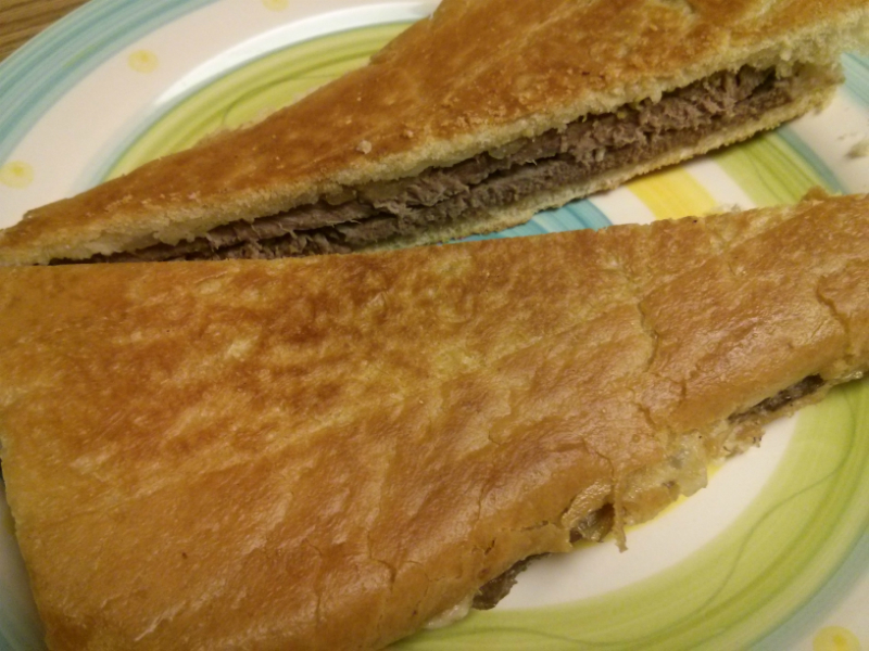 Pan con Bistec (Cuban Palomilla Steak Sandwich)