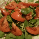 Watercress Tomato Salad