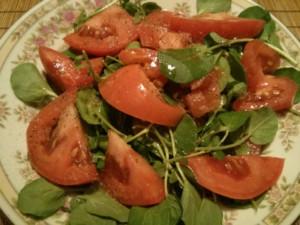 Watercress Tomato Salad