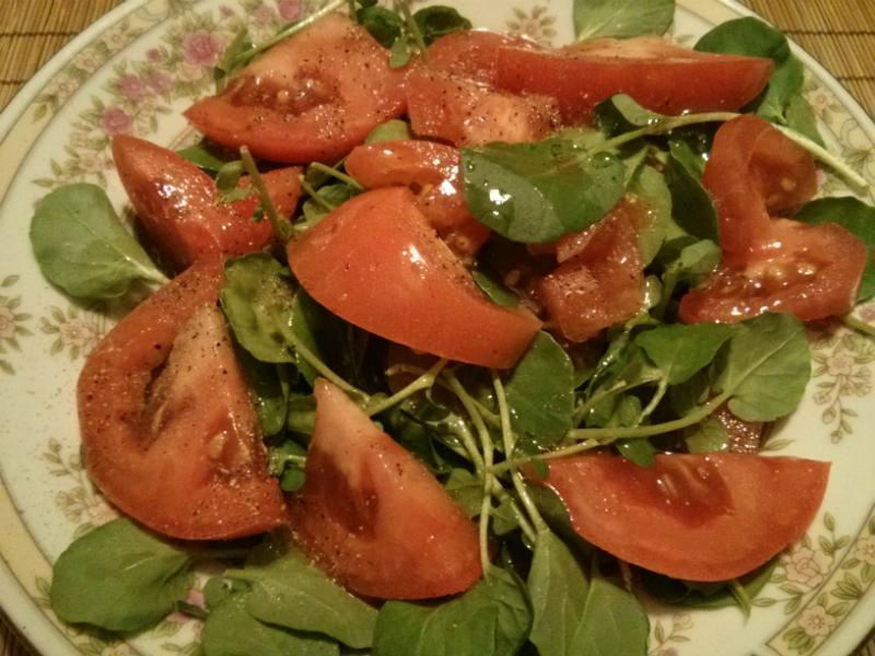 Watercress & Tomato Salad